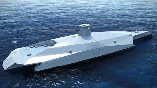 HMS Hi-tech, the warship of the future