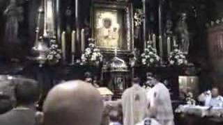 Msza Święta w Sanktuarium N.M.P. Jasnogórskiej
