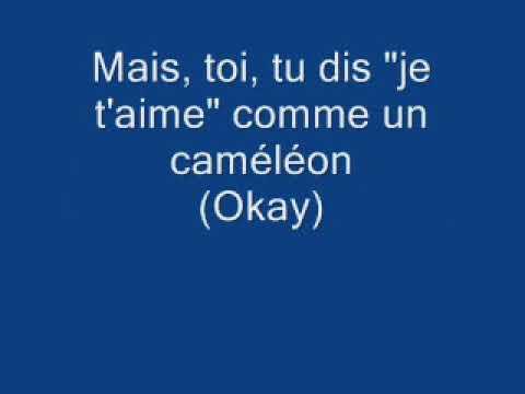 Maître Gims - Caméléon (Lyrics)