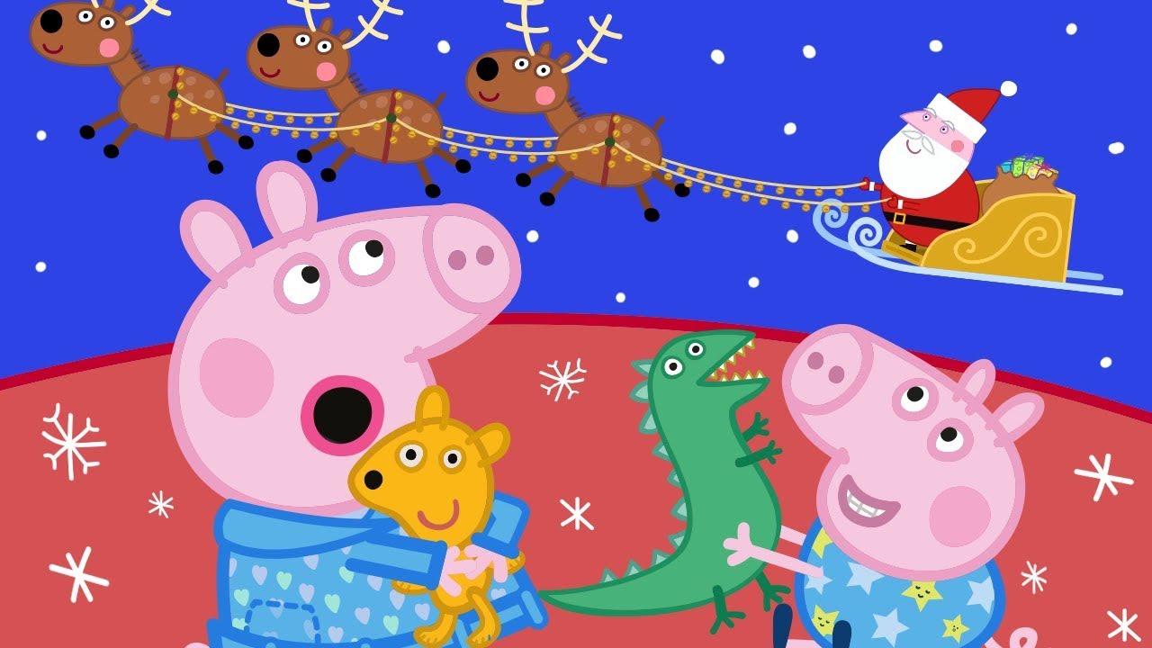 Peppa Pig Natale.Peppa Pig Italiano Buon Natale Collezione Italiano Cartoni Animati Peppa Natale Youtube