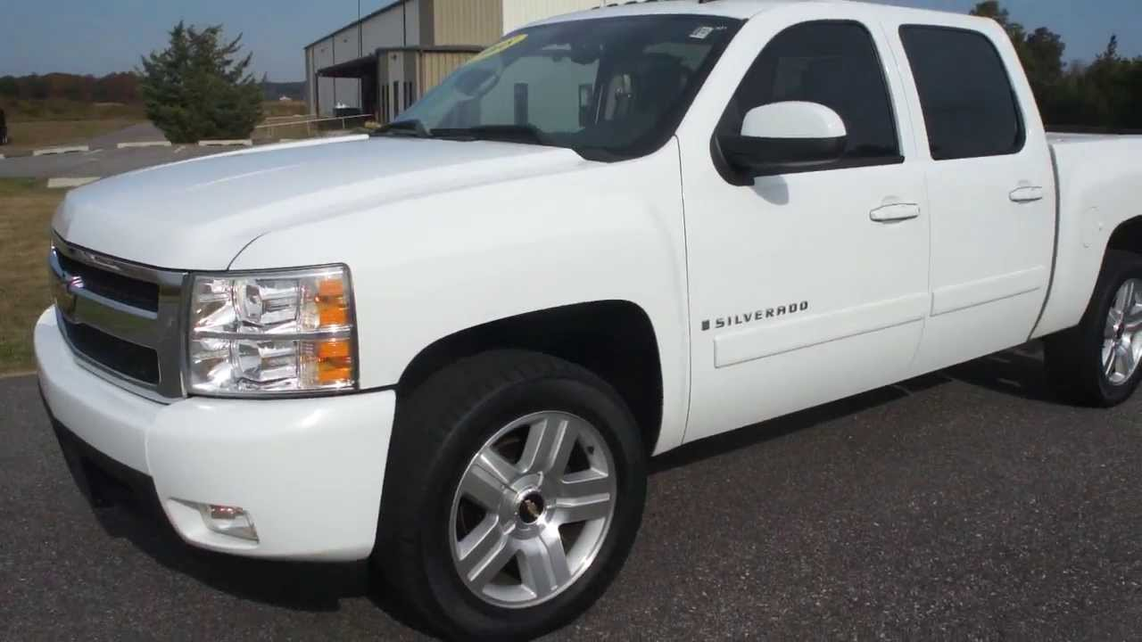 sold 2008 chevrolet silverardo 1500 crew cab ltz 4x4. Black Bedroom Furniture Sets. Home Design Ideas