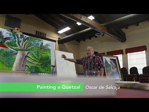 11 Guatemala Quetzal Landscape Painting Workshop