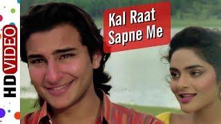 Kal Raat Sapne Mein | Udaan (1997) Song | Saif Ali Khan | Madhoo Shah | Kumar Sanu | Alka Yagnik
