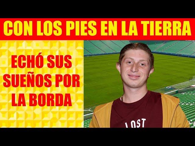 Tras Fracasar en el Futbol, Benito Rivers Rogó Regresar a Vecinos