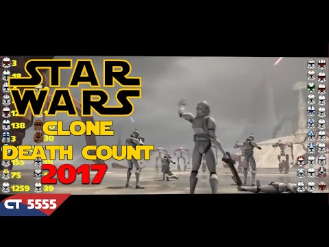 Star Wars Saga Clone Death Count