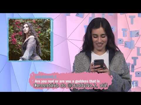 Lauren Jauregui lê os comentários mais legais de suas fotos no Instagram para a MTV legendado