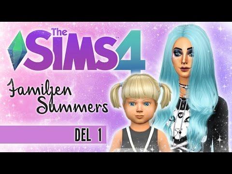 THE SIMS 4 | SKAPAR NY FAMILJ ❤ Familjen Summers - DEL 1