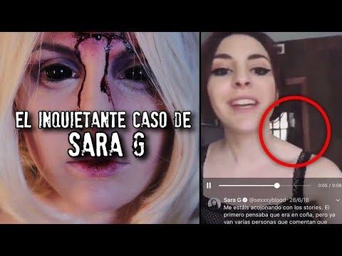el inquietante caso de la YouTuber SARA G
