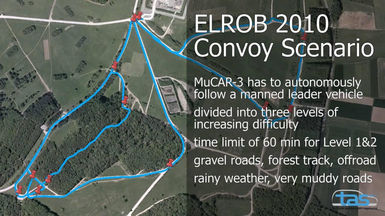 Mucar 3 At Elrob 2010 In Hammelburg Germany Convoy Scenario Youtube