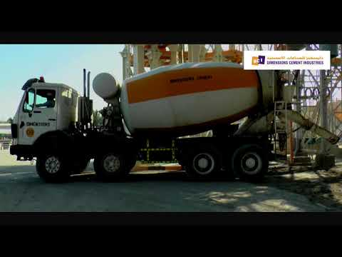 DIMENSION CEMENT INDUSTRY, DCI PRECAST, ICAD-1, ABUDHABI