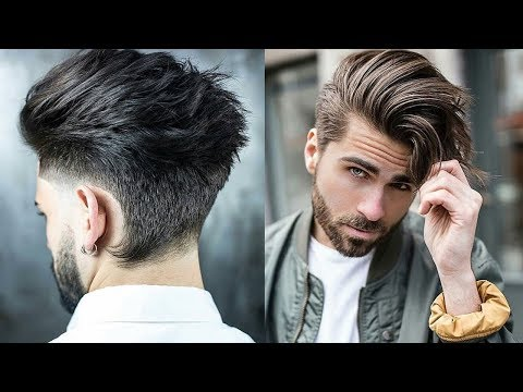 Top 10 Best Hottest Hairstyles For Men 2017-2018-Sexiest Hairstyles 2019-10 Latest Haircuts For Men