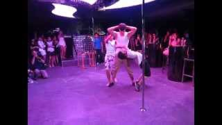 Street Workout Performance at at Pole Dancing Competition in Hong Kong (香港街頭健身)