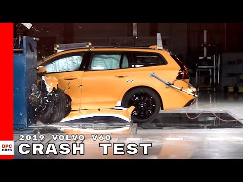 2019 Volvo V60 Small Overlap Crash Test
