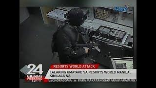 Lalaking umatake sa Resorts World Manila, kinilala na