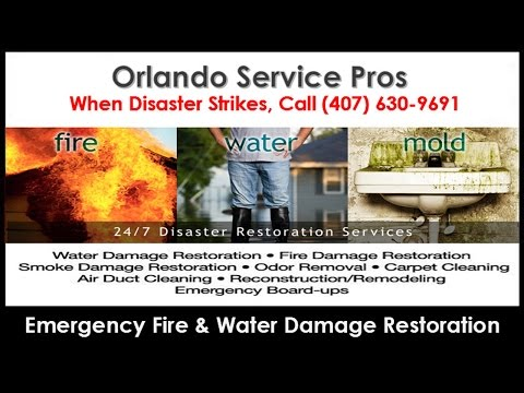 Fire and Water Damage Restoration Zellwood FL (407) 630-9691 Smoke Fire Damage Repair