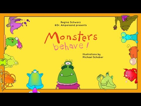 Monsters Behave! kids poems & rhymes for kids - Best App For Kids - iPhone/iPad/iPod Touch