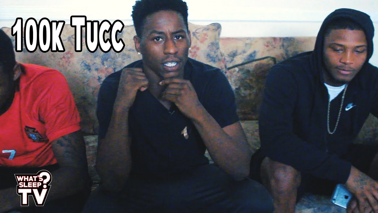 """100K Tucc Talks How He Started Rapping & Why He Quit Football: """"I'm Finna Shut The City Down"""""""