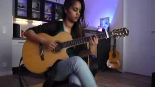"""COVER Guitare """" Kwé ou en pense """" de Pix'L et Adjah Santana by Didine987"""