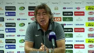 Ricardo Sa Pinto: Her şeyi yaptık ama golü bulamadık   Gaziantep FK - Sivasspor