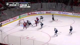 Last heated minutes of the Canadiens-Jets game