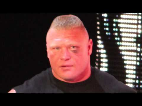 Brock Lesnar on Shelton Benjamin