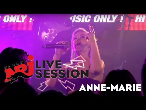 [LIVE] Anne-Marie performs Trigger & Rockabye  co-starring Paul Rey - NRJ Live Session -NRJ SWEDEN
