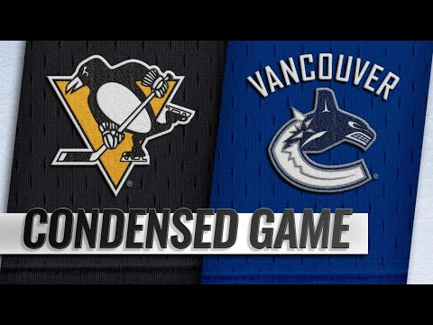 10/27/18 Condensed Game: Penguins @ Canucks