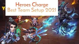 Heroes Charge Best Team Setup 2021 screenshot 3