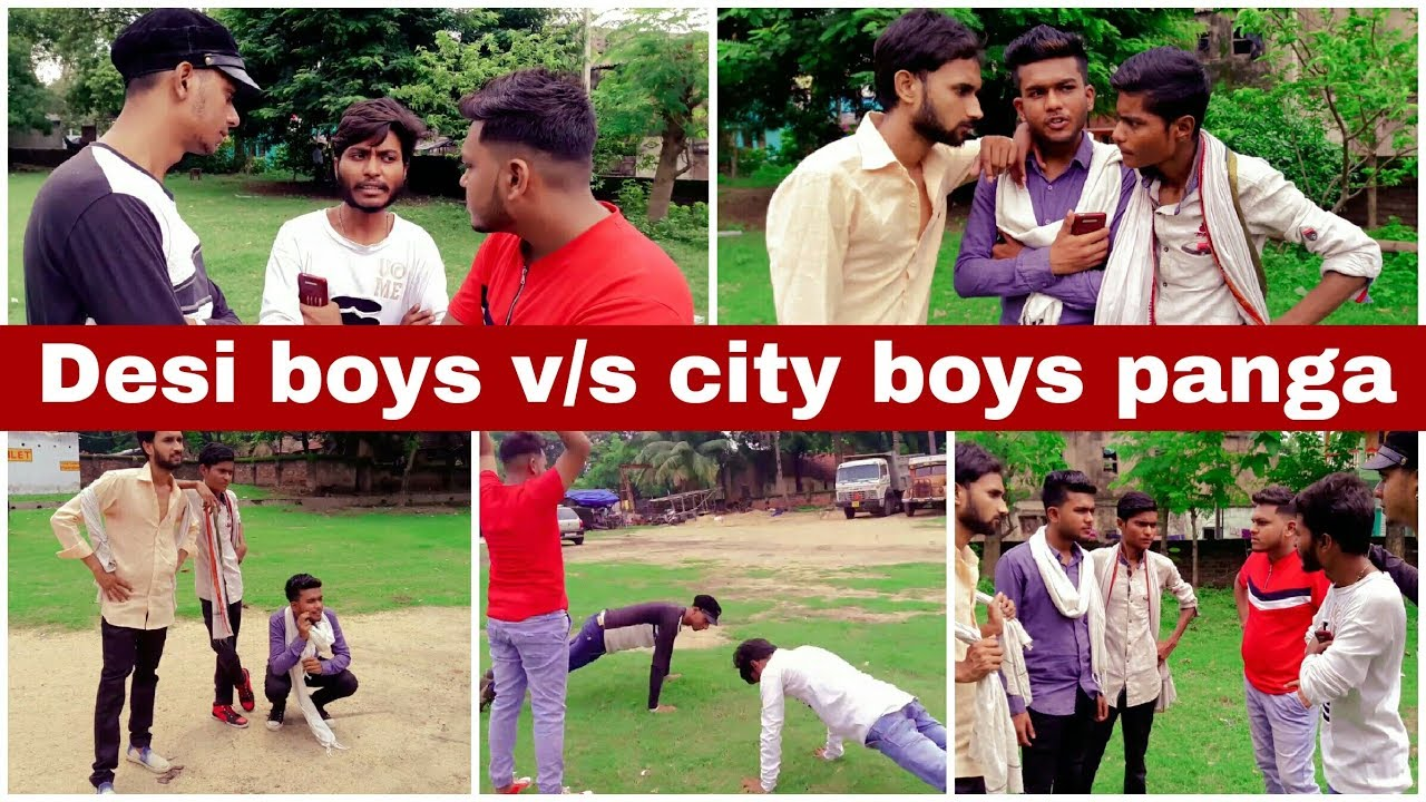 Desi boys v/s City boys Panga | Comedy | [Hindi]
