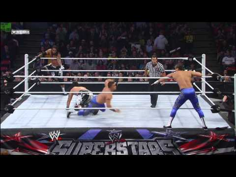 The Usos vs. Primo & Epico: WWE Superstars, February 1, 2013