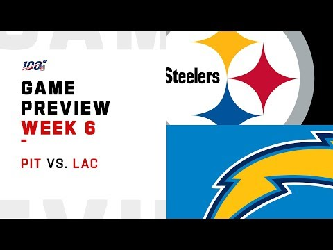 Pittsburgh Steelers vs. Los Angeles Chargers Week 6 NFL Game