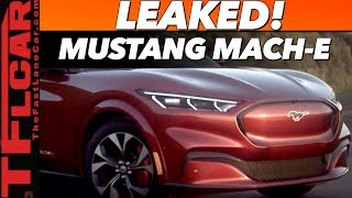 Breaking News - 2021 Ford Mustang Mach-E Leaked Before You're Supposed to See It!