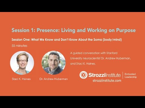 SI Webinar on Presence: Living and Working on Purpose, Session One