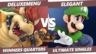 Standoff 2019 - DARBLY   Deluxemenu (Bowser, Ridley) Vs NVR   Elegant (Luigi) Smash Winners Quarters