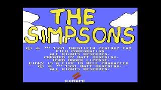 Commodore 64 Longplay [157] The Simpsons Arcade (US)