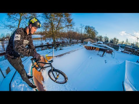BMX SNOW RIDING IN NORWAY!