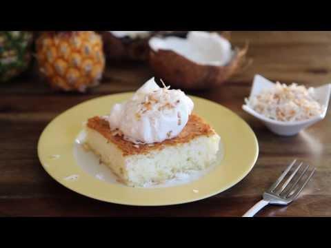 How to Make Pineapple Angel Food Cake | Cake Recipes | Allrecipes.com