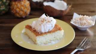 Cake Recipes - How To Make Pineapple Angel Food Cake