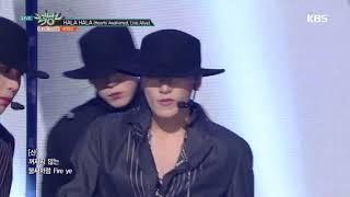 뮤직뱅크 Music Bank - HALA HALA (Hearts Awakened, Live Alive) - ATEEZ(에이티즈).20190118