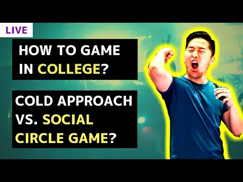 How to meet girls in college difference between cold approach and how to meet girls in college difference between cold approach and social circle game live qa ccuart Choice Image