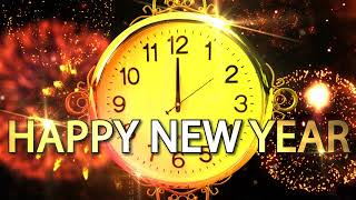 Happy New Year CLOCK 2019 v 683 Countdown Timer with Sound Effects Voice 4K