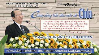 HTTL PHÚC ÂM -  Chương Trình Thờ Phượng Chúa - 05/09/2021