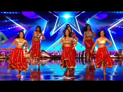 Britain's Got Talent 2017 London School of Bollywood Full Audition S11E03