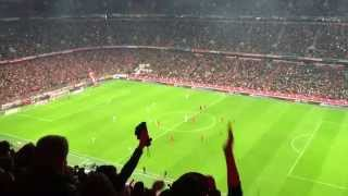 Baixar - Bayern Munich Vs Wolfsburg 22 September 2015 1st And 2nd Goal Stadium Celebration Grátis