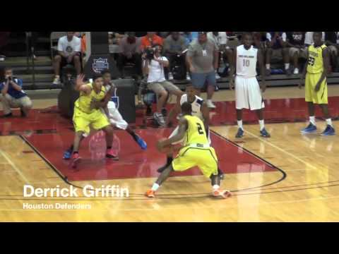 Houston Defenders are DOMINANT! Win Over Boo Williams Feat. Harrison Twins, Derrick Griffin