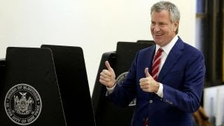 Re-election of NYC Mayor de Blasio likely as voters head to polls