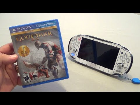 PSVita: God Of War HD Collection Hands On