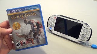 PSVita: God Of War HD Collection Hands On