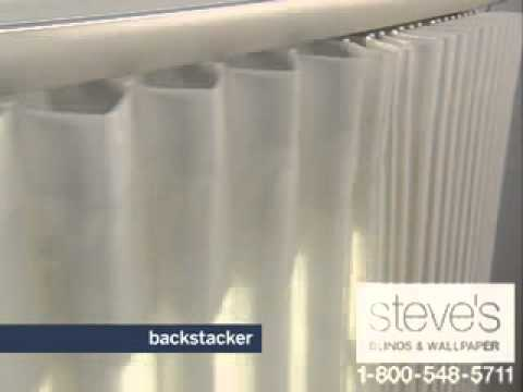 Levolor Perceptions Soft Vertical Shades Backstacker