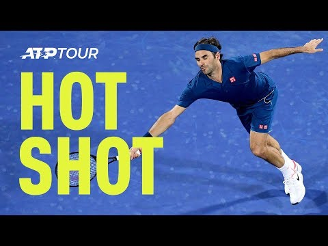 Hot Shot: Federer Showcases Amazing Reactions At Dubai 2019